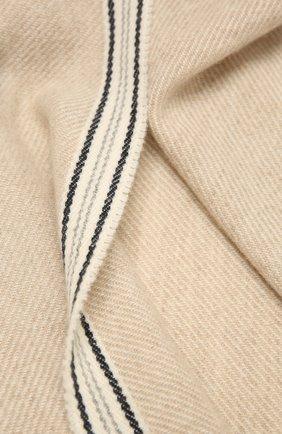 Мужской кашемировый шарф BRUNELLO CUCINELLI бежевого цвета, арт. MSC658AG | Фото 2