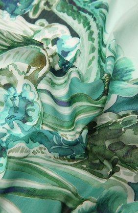 Мужской платок из хлопка и шелка ETON зеленого цвета, арт. A000 32970   Фото 2