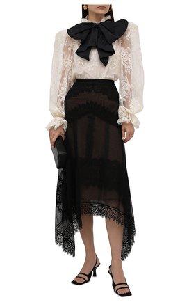 Женская блузка ZUHAIR MURAD кремвого цвета, арт. BLS21036/LABL011 | Фото 2