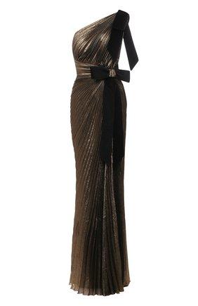 Женское платье ZUHAIR MURAD бронзового цвета, арт. DRS21030/CHLU005 | Фото 1