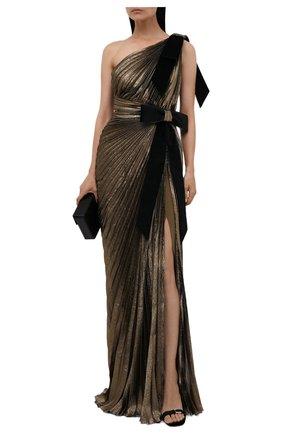 Женское платье ZUHAIR MURAD бронзового цвета, арт. DRS21030/CHLU005 | Фото 2