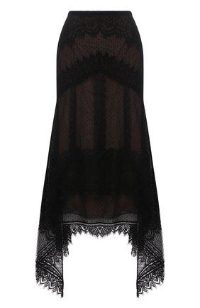 Женская юбка ZUHAIR MURAD черного цвета, арт. SKS21035/LMIX009 | Фото 1