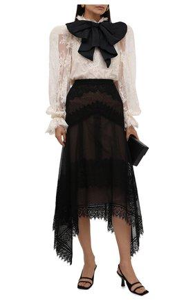 Женская юбка ZUHAIR MURAD черного цвета, арт. SKS21035/LMIX009 | Фото 2