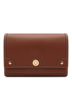 Женская сумка note medium BURBERRY коричневого цвета, арт. 8043055 | Фото 1