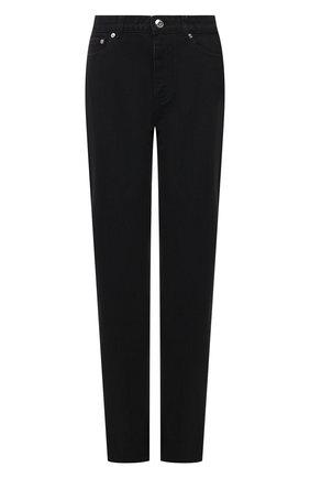 Женские джинсы BURBERRY черного цвета, арт. 8041925 | Фото 1