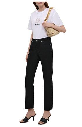 Женские джинсы BURBERRY черного цвета, арт. 8041925 | Фото 2