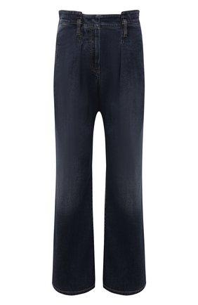 Женские джинсы BRUNELLO CUCINELLI темно-синего цвета, арт. MH186P5685 | Фото 1 (Материал внешний: Хлопок; Длина (брюки, джинсы): Стандартные; Стили: Кэжуэл; Кросс-КТ: Деним)