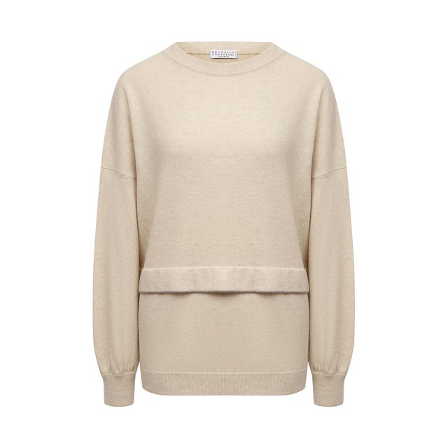 Пуловер из шерсти и кашемира Brunello Cucinelli