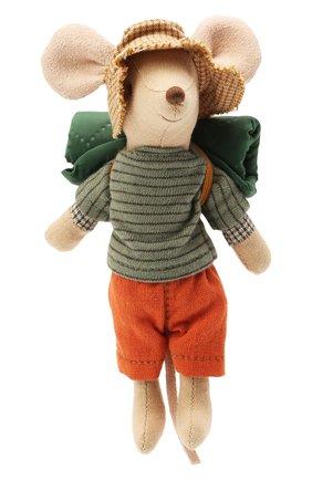 Детского игрушка мышонок старший брат путешественник MAILEG разноцветного цвета, арт. 16-1737-00 | Фото 1