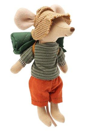 Детского игрушка мышонок старший брат путешественник MAILEG разноцветного цвета, арт. 16-1737-00 | Фото 2