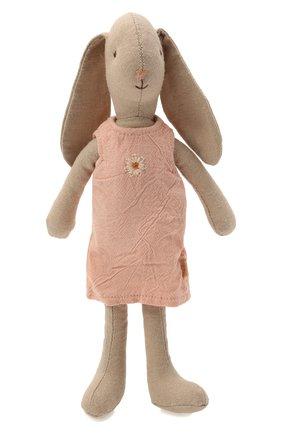 Детского игрушка зайчик в платье MAILEG разноцветного цвета, арт. 16-1100-00 | Фото 1