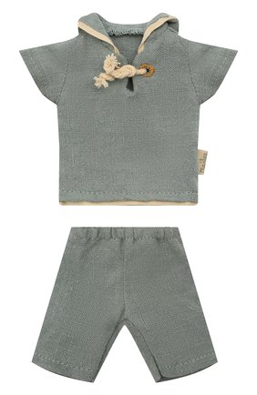 Детского костюм моряка для игрушки мышонка MAILEG голубого цвета, арт. 16-1120-01 | Фото 1