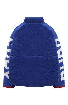 Детского куртка BURBERRY синего цвета, арт. 8040901 | Фото 2