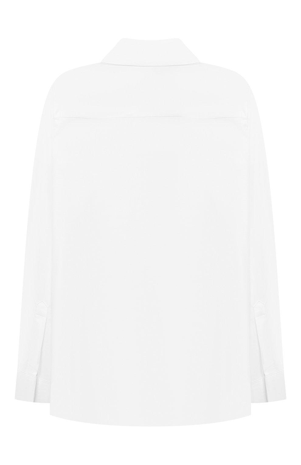 Детская хлопковая рубашка BURBERRY белого цвета, арт. 8040989 | Фото 2 (Рукава: Длинные; Принт: Без принта; Материал внешний: Хлопок; Стили: Классический; Ростовка одежда: 10 - 11 лет | 140 - 146см, 12 лет | 152 см, 16 лет | 164 см, 3 года | 98 см, 4 года | 104 см, 6 лет | 116 см, 8 лет | 128 см)