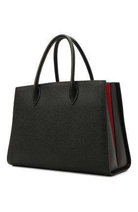 Женский сумка-тоут PRADA черного цвета, арт. 1BA153-2ERX-F0D9A-OOF   Фото 2