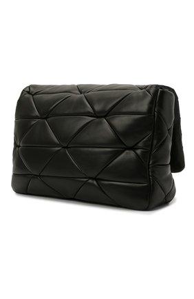 Женская сумка system PRADA черного цвета, арт. 1BD291-2DMO-F0002-L9O   Фото 2