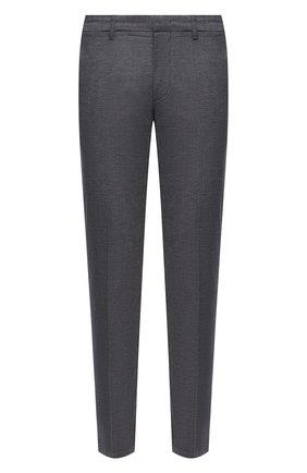 Мужские хлопковые брюки BOSS темно-синего цвета, арт. 50452804 | Фото 1