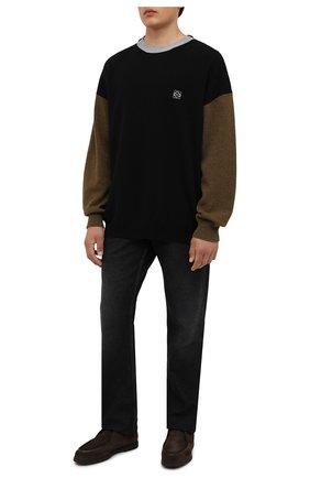 Мужские замшевые ботинки W.GIBBS темно-коричневого цвета, арт. 1078003/2567 | Фото 2
