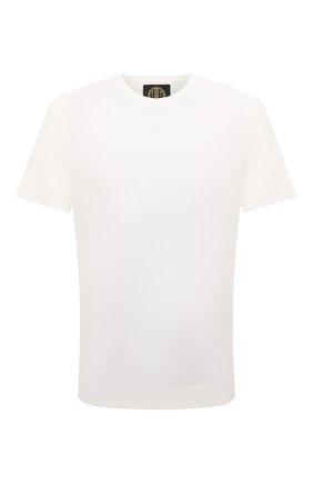 Мужская хлопковая футболка LIMITATO белого цвета, арт. EMBLEM/T-SHIRT | Фото 1