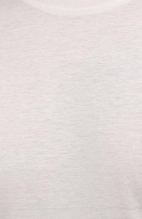 Мужская хлопковая футболка LIMITATO белого цвета, арт. EMBLEM/T-SHIRT | Фото 5 (Принт: Без принта; Рукава: Короткие; Длина (для топов): Стандартные; Материал внешний: Хлопок)