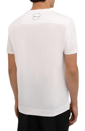 Мужская хлопковая футболка LIMITATO белого цвета, арт. HIT/T-SHIRT | Фото 4 (Рукава: Короткие; Длина (для топов): Стандартные; Принт: С принтом; Материал внешний: Хлопок)