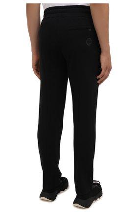 Мужские хлопковые брюки LIMITATO черного цвета, арт. TW0 T0NE/TRACK PANTS   Фото 4 (Мужское Кросс-КТ: Брюки-трикотаж; Длина (брюки, джинсы): Стандартные; Случай: Повседневный; Кросс-КТ: Спорт; Материал внешний: Хлопок; Стили: Спорт-шик)