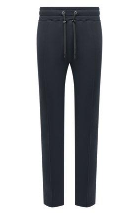 Мужские хлопковые брюки LIMITATO темно-серого цвета, арт. TW0 T0NE/TRACK PANTS | Фото 1 (Материал внешний: Хлопок; Длина (брюки, джинсы): Стандартные; Случай: Повседневный; Кросс-КТ: Спорт; Стили: Спорт-шик; Мужское Кросс-КТ: Брюки-трикотаж)