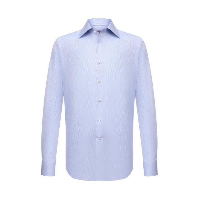Хлопковая сорочка Canali 12099113
