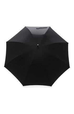 Мужской зонт-трость BURBERRY черного цвета, арт. 8025469 | Фото 1