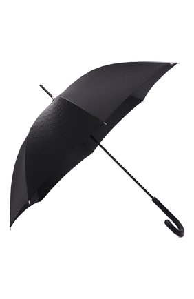 Мужской зонт-трость BURBERRY черного цвета, арт. 8025469 | Фото 2