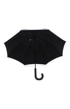 Мужской зонт-трость BURBERRY черного цвета, арт. 8025469   Фото 3 (Материал: Текстиль, Синтетический материал, Металл)