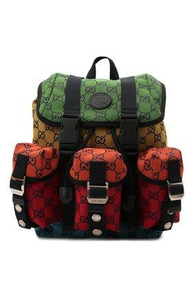 Мужской текстильный рюкзак gg multicolor GUCCI разноцветного цвета, арт. 658783/2UZBN | Фото 1