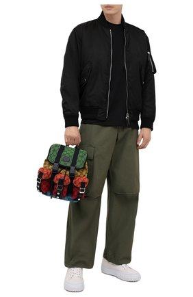 Мужской текстильный рюкзак gg multicolor GUCCI разноцветного цвета, арт. 658783/2UZBN | Фото 2