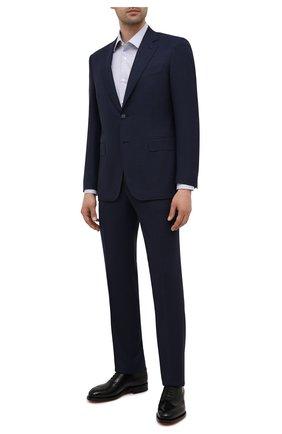 Мужские кожаные оксфорды SANTONI черного цвета, арт. MCCG17673MD3HRT0N01 | Фото 2