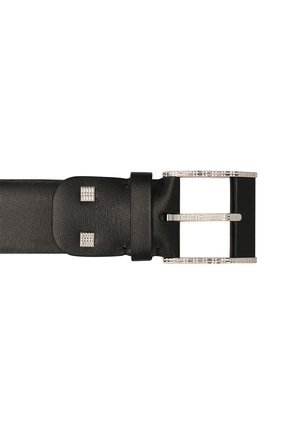 Мужской кожаный ремень ZILLI черного цвета, арт. MJL-CLAQE-01030/0082 | Фото 3 (Случай: Формальный)