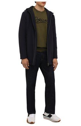 Мужская утепленная куртка HERNO синего цвета, арт. PA008UR/12387S | Фото 2