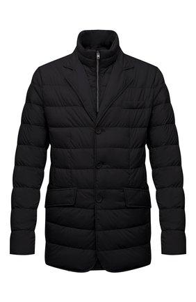 Мужская пуховая куртка HERNO черного цвета, арт. PI001ULE/19288 | Фото 1