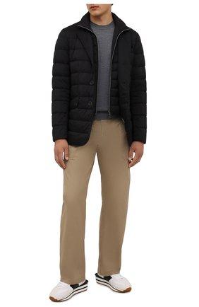Мужская пуховая куртка HERNO черного цвета, арт. PI001ULE/19288 | Фото 2