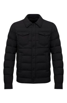 Мужская пуховая куртка HERNO черного цвета, арт. PI011ULE/19288 | Фото 1