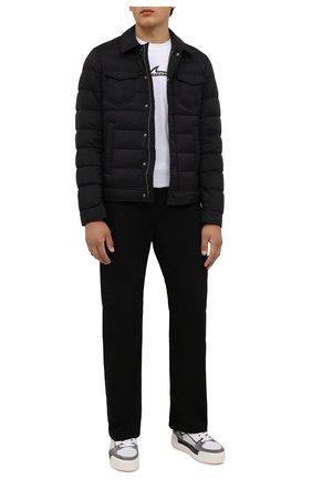 Мужская пуховая куртка HERNO черного цвета, арт. PI011ULE/19288 | Фото 2