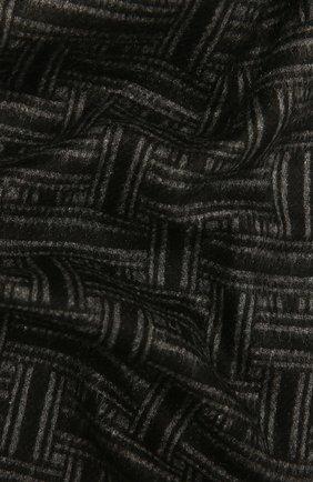 Мужской шарф из шелка и кашемира BRIONI темно-серого цвета, арт. 031E00/01351 | Фото 2