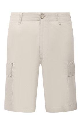 Мужские хлопковые шорты POLO RALPH LAUREN бежевого цвета, арт. 710835030   Фото 1