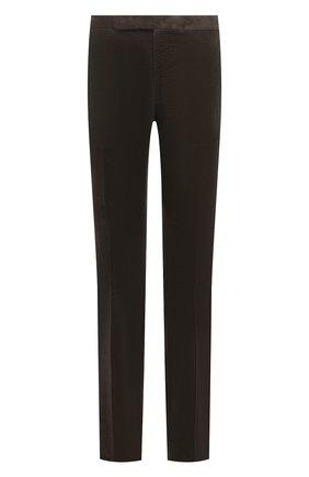 Мужские хлопковые брюки RALPH LAUREN хаки цвета, арт. 798843733 | Фото 1 (Материал внешний: Хлопок; Случай: Повседневный; Стили: Кэжуэл; Длина (брюки, джинсы): Стандартные; Материал подклада: Вискоза)