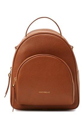 Женский рюкзак lea small COCCINELLE коричневого цвета, арт. E1 I60 14 01 01   Фото 1