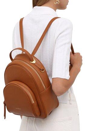 Женский рюкзак lea small COCCINELLE коричневого цвета, арт. E1 I60 14 01 01   Фото 2