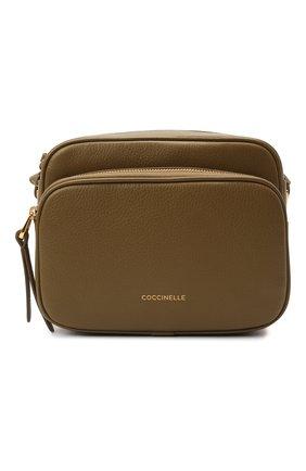 Женская сумка lea COCCINELLE хаки цвета, арт. E1 I60 15 01 01   Фото 1