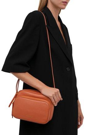 Женская сумка lea COCCINELLE оранжевого цвета, арт. E1 I60 15 01 01   Фото 2