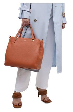 Женская сумка lea COCCINELLE оранжевого цвета, арт. E1 I60 18 02 01   Фото 2