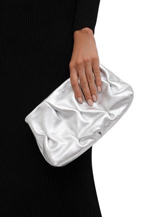 Женский клатч ophelie goodie COCCINELLE серебряного цвета, арт. E1 I85 19 02 01 | Фото 2