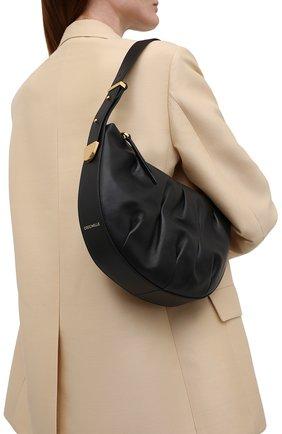 Женская сумка marquise goodie small COCCINELLE черного цвета, арт. E1 IC0 13 01 01   Фото 2